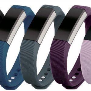 Accessories - NEW Denim blue fitness band fits Fitbit Alta HR